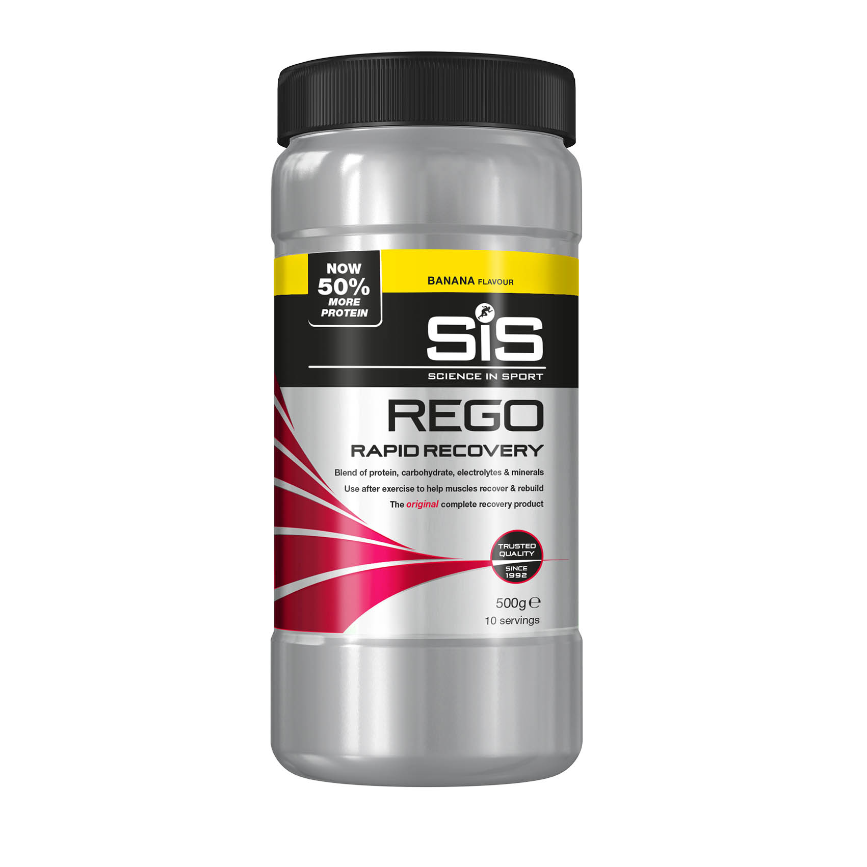 SiS REGO Rapid Recovery 500g  banán