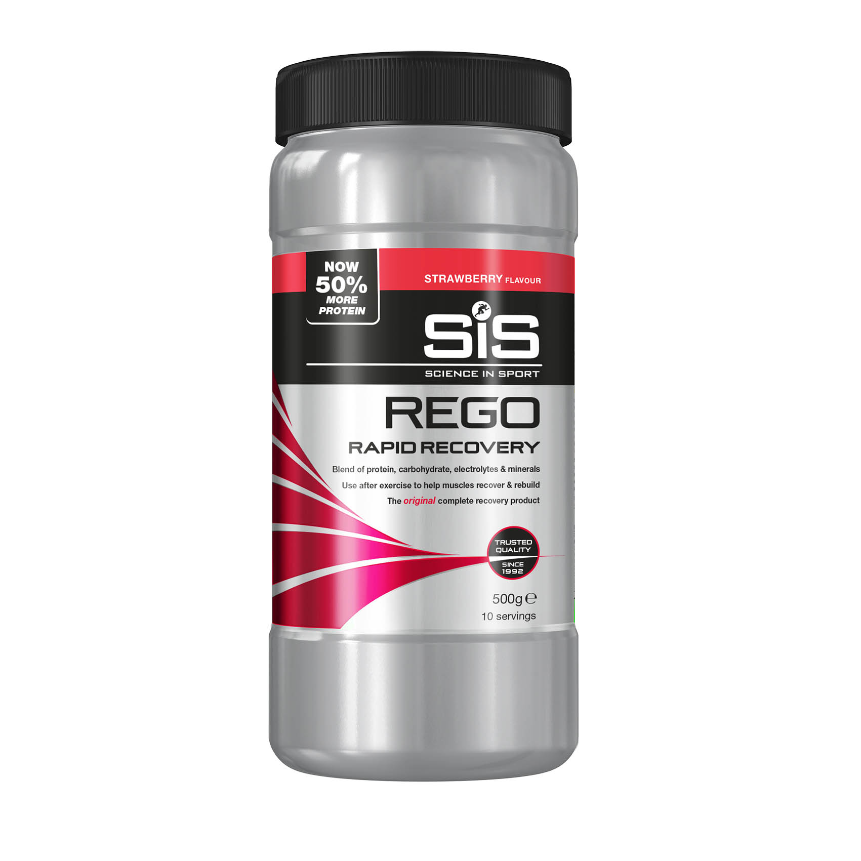 SiS REGO Rapid Recovery 500g  jahoda